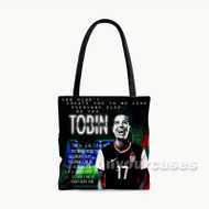 Tobin Heath USWNT Custom Personalized Tote Bag Polyester with Small Medium Large Size
