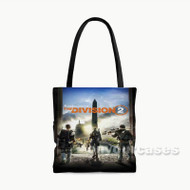 Tom Clancy s The Division 2 Custom Personalized Tote Bag Polyester with Small Medium Large Size