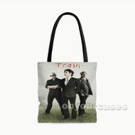 Train Custom Personalized Tote Bag Polyester with Small Medium Large Size