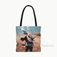 Travis Scott Days Before Birds Custom Personalized Tote Bag Polyester with Small Medium Large Size