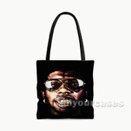 Trinidad James Custom Personalized Tote Bag Polyester with Small Medium Large Size