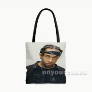 Ty Dolla ign Custom Personalized Tote Bag Polyester with Small Medium Large Size