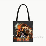 Ushio Tora Custom Personalized Tote Bag Polyester with Small Medium Large Size