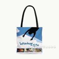 Waking Life Custom Personalized Tote Bag Polyester with Small Medium Large Size