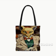 Whisper of The Heart Baron Custom Personalized Tote Bag Polyester with Small Medium Large Size