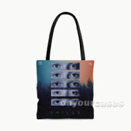 Why Don t We Chills Custom Personalized Tote Bag Polyester with Small Medium Large Size