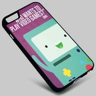 Adventure Time BMO on your case iphone 4 4s 5 5s 5c 6 6plus 7 Samsung Galaxy s3 s4 s5 s6 s7 HTC Case
