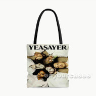 Yeasayer Custom Personalized Tote Bag Polyester with Small Medium Large Size