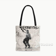 Yes Lawd Nx Worries Custom Personalized Tote Bag Polyester with Small Medium Large Size