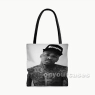 YG Rapper Custom Personalized Tote Bag Polyester with Small Medium Large Size