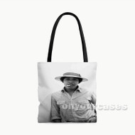 Young Obama SMoke Custom Personalized Tote Bag Polyester with Small Medium Large Size