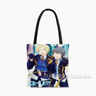 Yuri on Ice Feel The Love Custom Personalized Tote Bag Polyester with Small Medium Large Size