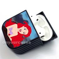 Ariel in the Little Mermaid Custom Air Pods Case Cover for Gen 1, Gen 2, Pro