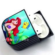 Ariel The Little Mermaid Custom Air Pods Case Cover for Gen 1, Gen 2, Pro