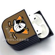 Anaheim Ducks NHL Custom Air Pods Case Cover for Gen 1, Gen 2, Pro