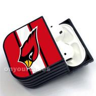 Arizona Cardinals NFL Custom Air Pods Case Cover for Gen 1, Gen 2, Pro