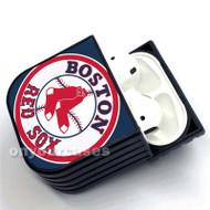 Boston Red Sox MLB Custom Air Pods Case Cover for Gen 1, Gen 2, Pro