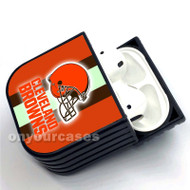 Cleveland Browns NFL Custom Air Pods Case Cover for Gen 1, Gen 2, Pro