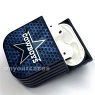 Dallas Cowboys NFL Custom Air Pods Case Cover for Gen 1, Gen 2, Pro