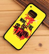 Gurren Lagann Kamina Quote HTC One X M7 M8 M9 Case
