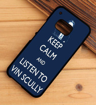 Hear Is Vin scully HTC One X M7 M8 M9 Case