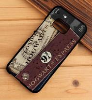 Hogwarts Express Collage HTC One X M7 M8 M9 Case