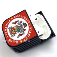 Accrington Stanley FC Custom Air Pods Case Cover for Gen 1, Gen 2, Pro