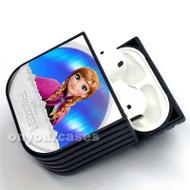 Anna Frozen Disney Custom Air Pods Case Cover for Gen 1, Gen 2, Pro
