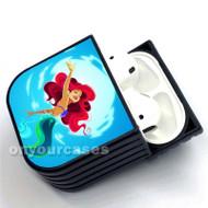 Ariel Mermaid Custom Air Pods Case Cover for Gen 1, Gen 2, Pro