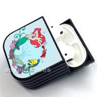Disney Ariel The Little Mermaid Custom Air Pods Case Cover for Gen 1, Gen 2, Pro
