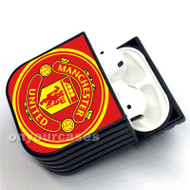 Manchester United FC Custom Air Pods Case Cover for Gen 1, Gen 2, Pro