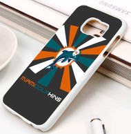 Miami Dolphins 2 Samsung Galaxy S3 S4 S5 S6 S7 case / cases