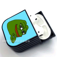 Pepe The Frog Custom Air Pods Case Cover for Gen 1, Gen 2, Pro