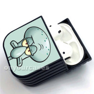 Squidward Face Custom Air Pods Case Cover for Gen 1, Gen 2, Pro