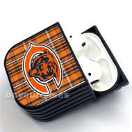 Chicago Bears NFL Custom Air Pods Case Cover 1 for Gen 1, Gen 2, Pro