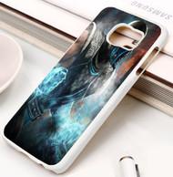 Mortal Kombat Sub Zero Samsung Galaxy S3 S4 S5 S6 S7 case / cases