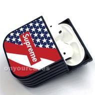 Flag Supreme Custom Air Pods Case Cover for Gen 1, Gen 2, Pro