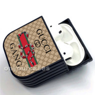Gucci Gang Custom Air Pods Case Cover for Gen 1, Gen 2, Pro