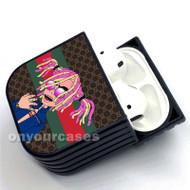 Lil Pump Gucci Gang 2 Custom Air Pods Case Cover for Gen 1, Gen 2, Pro