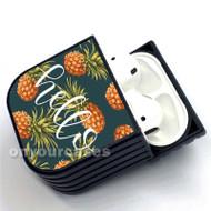 pineapple hello Custom Air Pods Case Cover for Gen 1, Gen 2, Pro