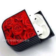 Roses Custom Air Pods Case Cover for Gen 1, Gen 2, Pro