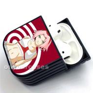 Sakura Haruno Naruto Custom Air Pods Case Cover for Gen 1, Gen 2, Pro