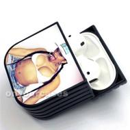 Sexy Cardi B Custom Air Pods Case Cover for Gen 1, Gen 2, Pro