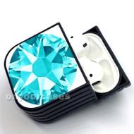 Turquoise Diamond Custom Air Pods Case Cover for Gen 1, Gen 2, Pro