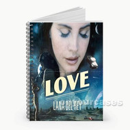 Lana Del Rey Love Custom Personalized Spiral Notebook Cover
