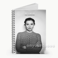 Lisa Hannigan Undertow Custom Personalized Spiral Notebook Cover