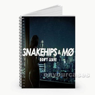 Snakehips M Don t Leave Custom Personalized Spiral Notebook Cover