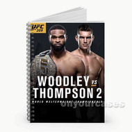 UFC 209 Woodley vs Thompson Custom Personalized Spiral Notebook Cover