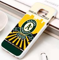 Oakland Athletics 3 Samsung Galaxy S3 S4 S5 S6 S7 case / cases