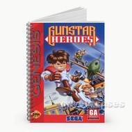 Gunstar Heroes Custom Personalized Spiral Notebook Cover